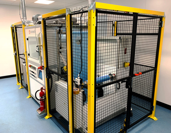 Hybrisan install new electrospinning production line