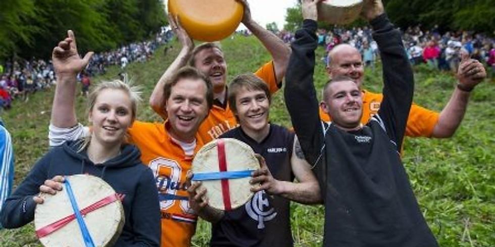 Онлайн трансляция   «Фестиваль «Сырная гонка» в Англии»