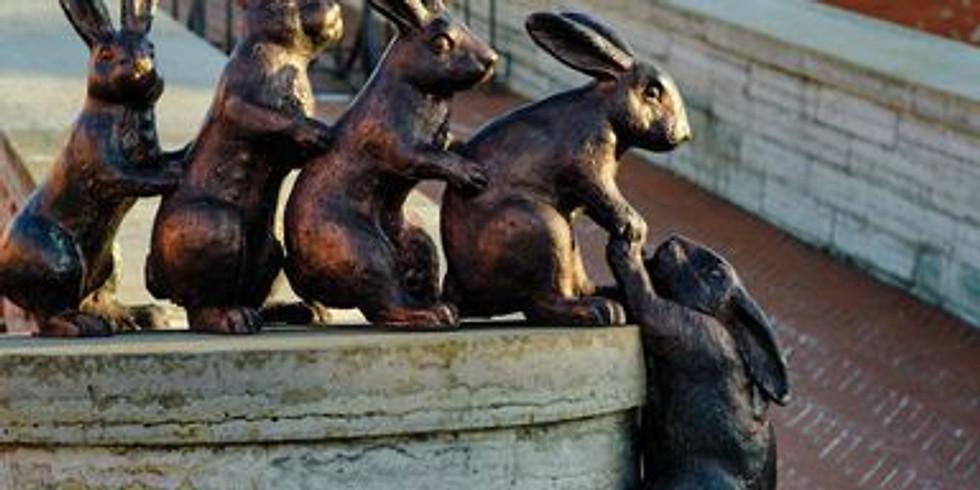 Онлайн трансляция    «Сказка о Зайцах, Заячьем острове и царе Петре»