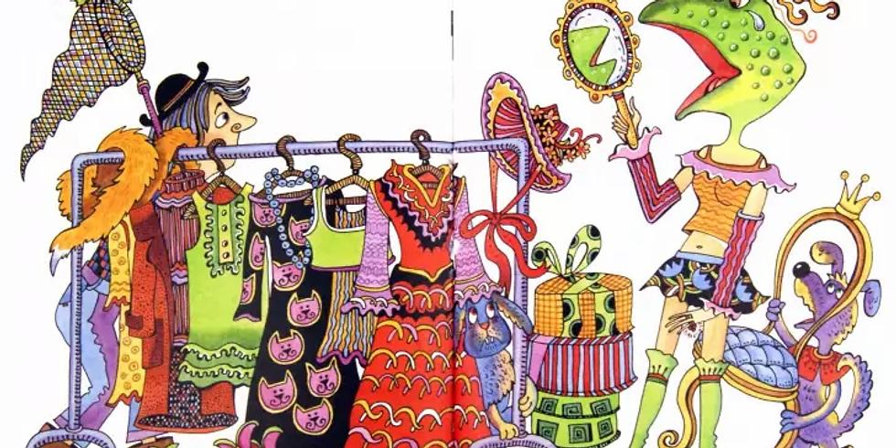 Онлайн трансляцият о книге А.М.Г. Шмидт «Сказки только сказки»