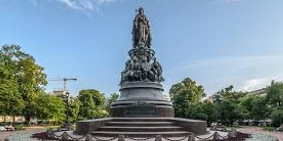 Онлайн трансляция «История памятника Екатерине II»