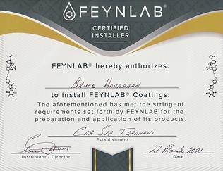 Feynlab Certificate.png