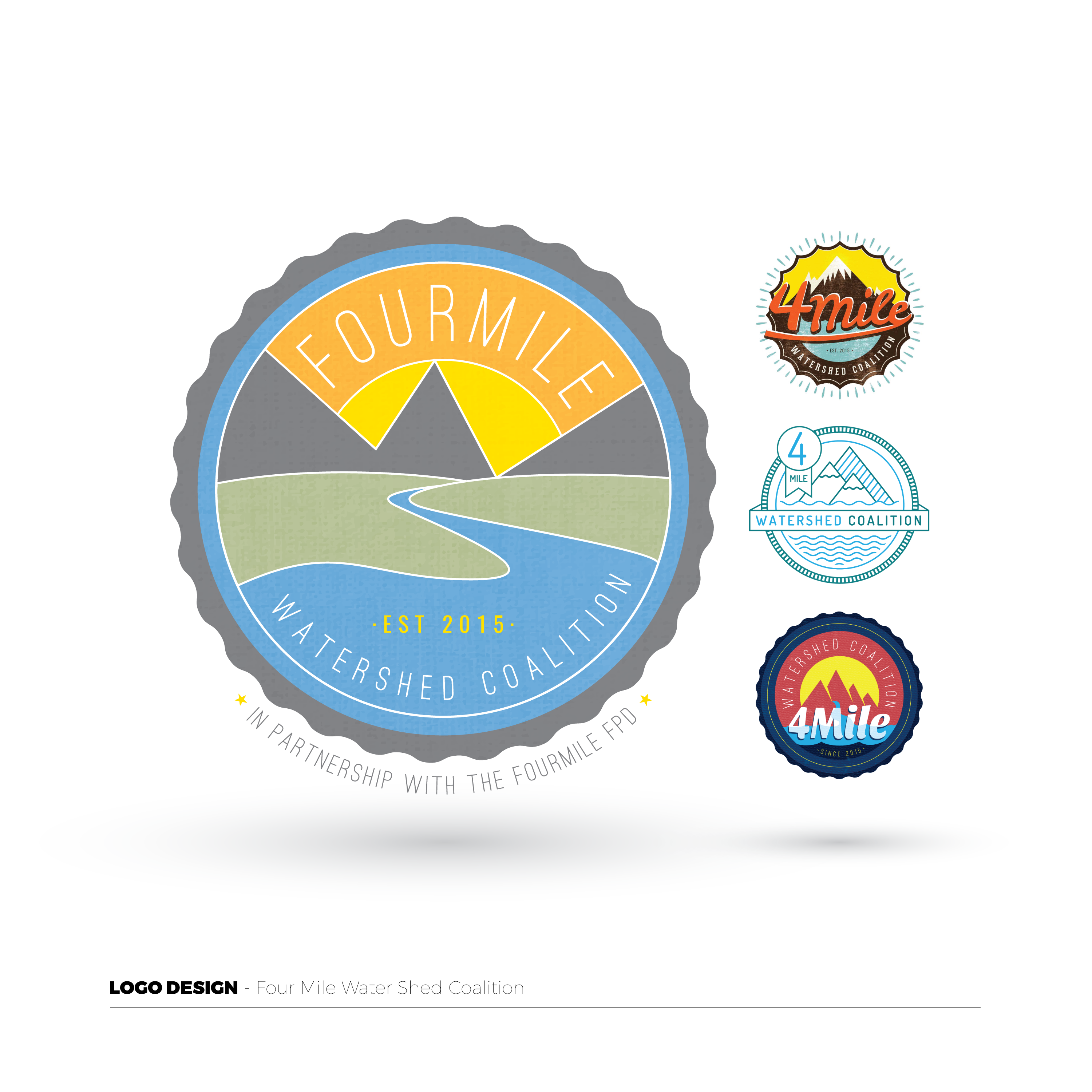 4 Mile Watershed Coalition Logo
