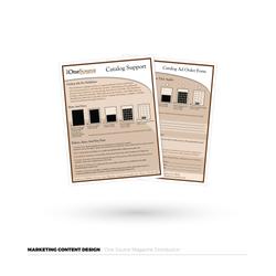 One Source Catalog Marketing