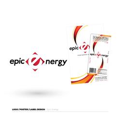 Epic Energy Logo & Label