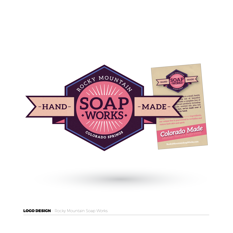 Rocky Mountain Soap Works Logo