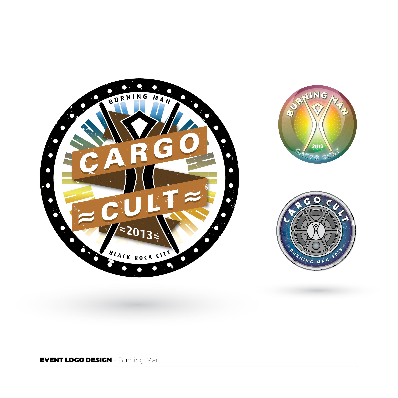 Burning Man Event Logos