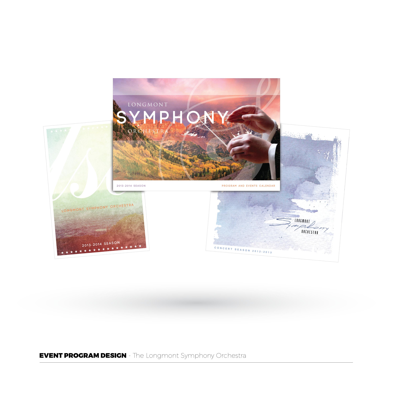 Longmont Symphony Event Programs