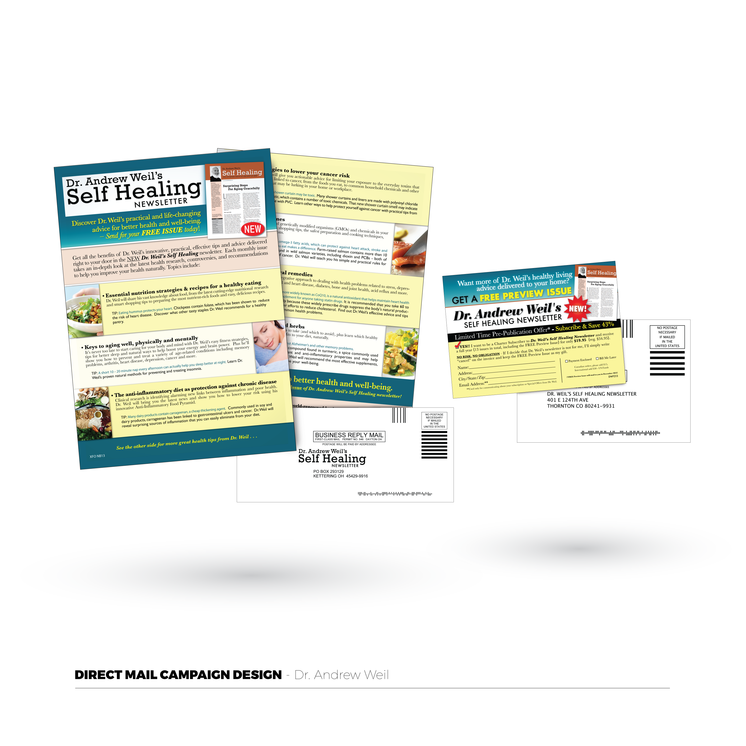 Dr. Andrew Weil Direct Mail