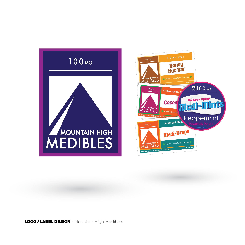 Mountain High Medibles Logo