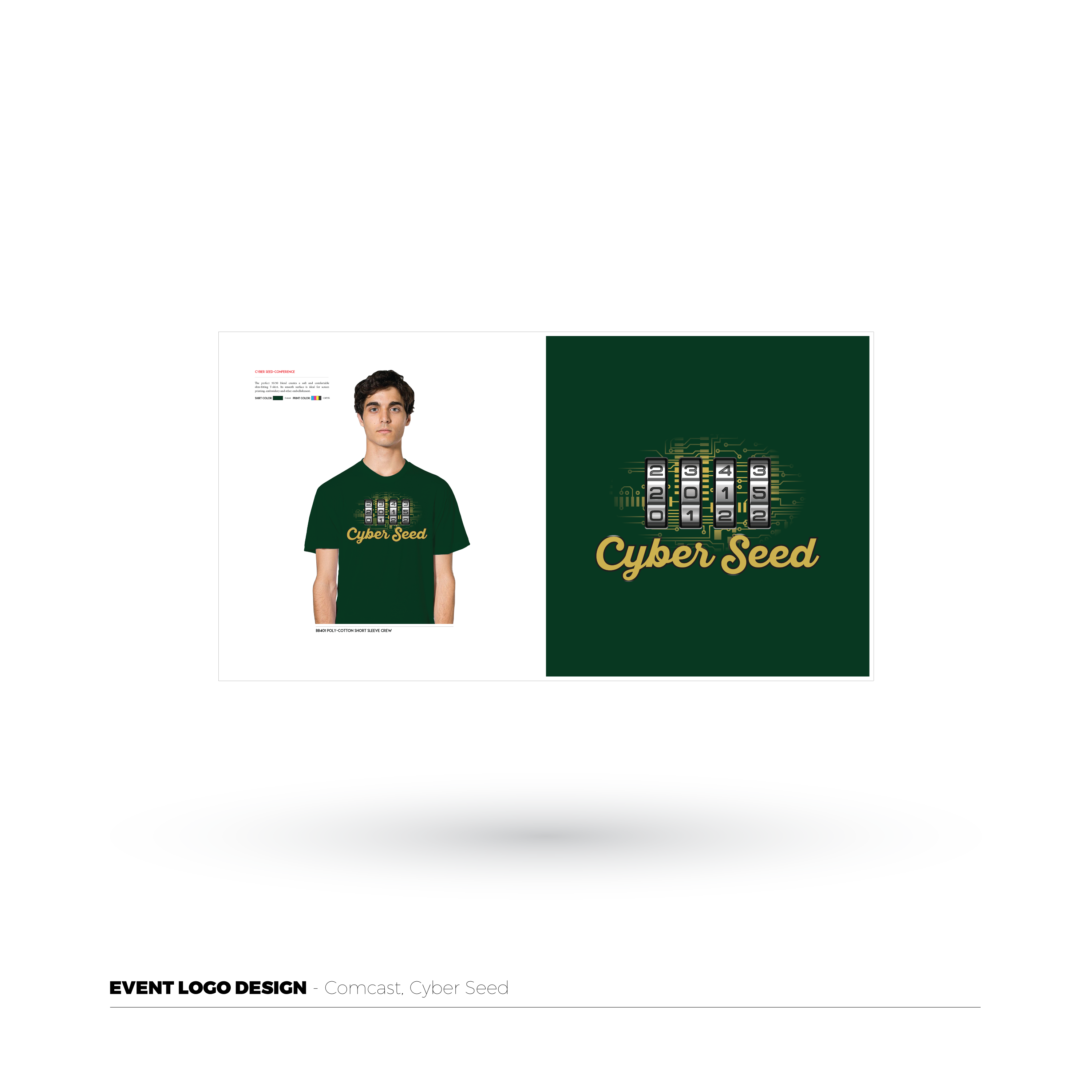 Comcast's Cyber Seed Shirt Graphics
