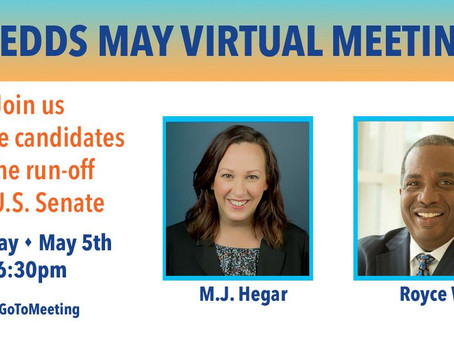 FEDDs May Mtg - US Senate Candidates - AUDIO Available