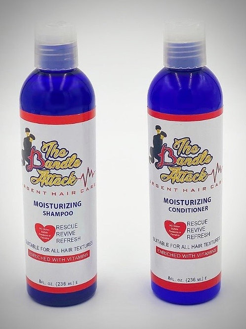 Urgent Hair Care: Moisturizing Shampoo & Conditioner Bundle