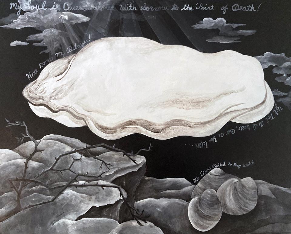 """Oyster at Gethsemane"""