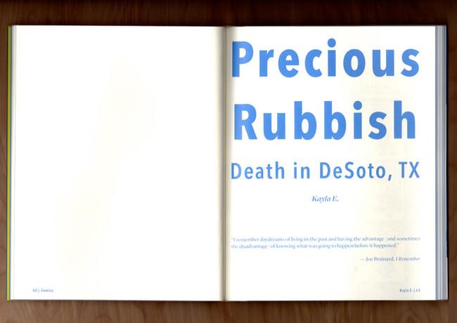 Precious Rubbish: Death in DeSoto, TX