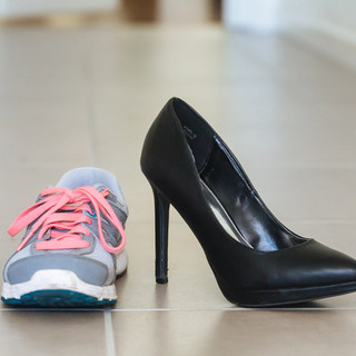 A Stay-at-Home Mom's Walk to Work