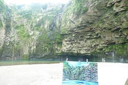 Ogawa Falls in Nejime