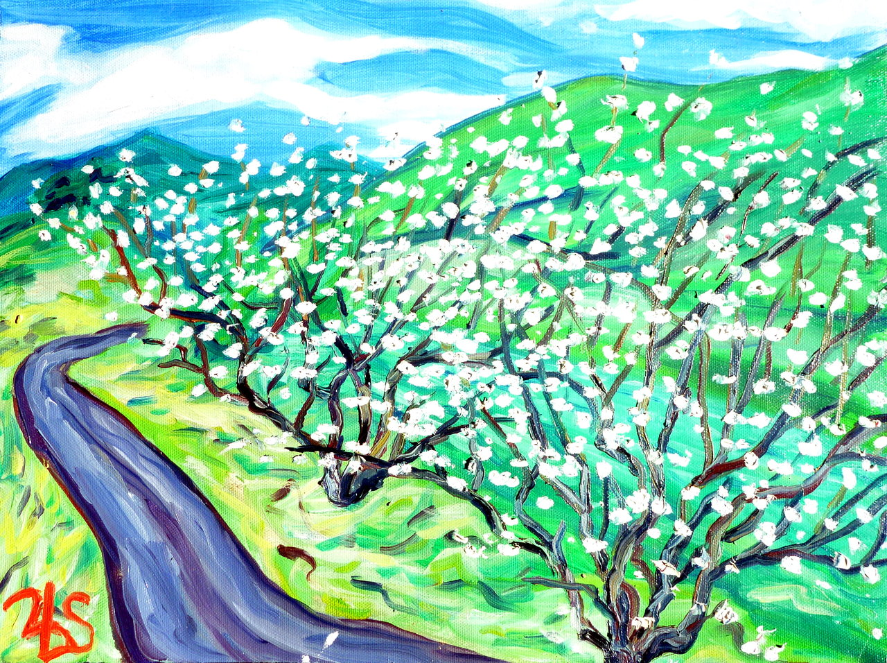 Nejime Plum Trees 2010