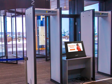 Vpod announce new Vdesk visitor sign in system