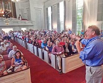 4th of July 2017 at Nantucket unitaran church