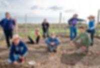 nantucket unitarian universalists in the community garden