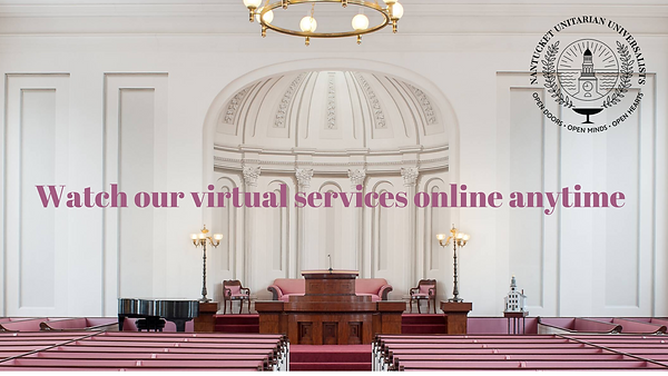Watch our virtual services online anytim