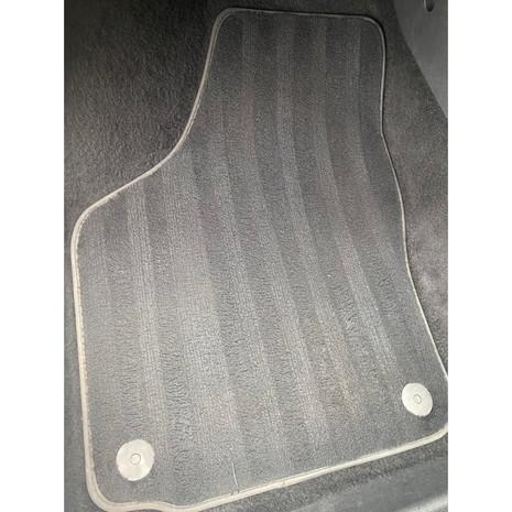 Clean car mat