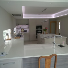 kitchen tops and sink