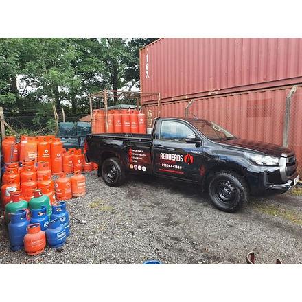 Redheads Coal Merchants truck