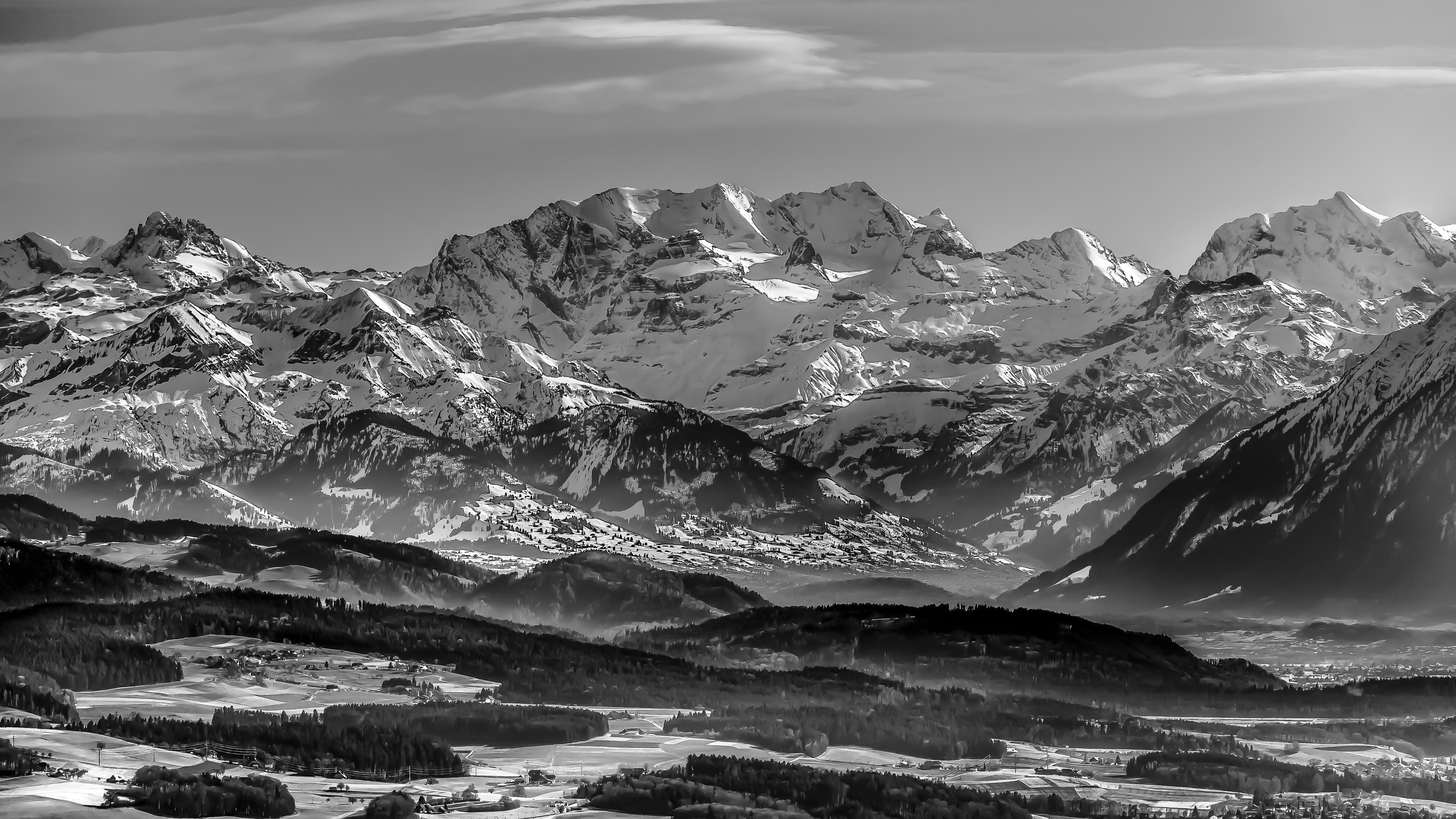 Their Majesty the Swiss Alps