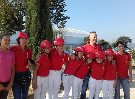 Il #fucsiapower è presente in 9 medaglie su 12 ottenute, dal #Piemonte , durante le #PonyAdi 2016 !!