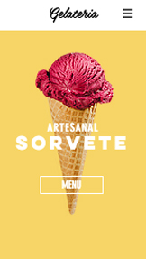 Café e Padaria website templates – Sorveteria