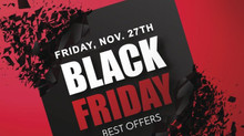 Black Friday Sale at Blue Hill Golf Course!