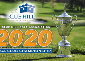 REGISTRATION IS NOW OPEN for the Blue Hill Golf Association - 2020 BHGA CLUB CHAMPIONSHIP!