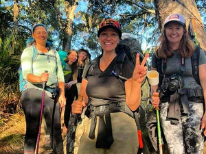 Our first Overnight Hike was the most epic yet!