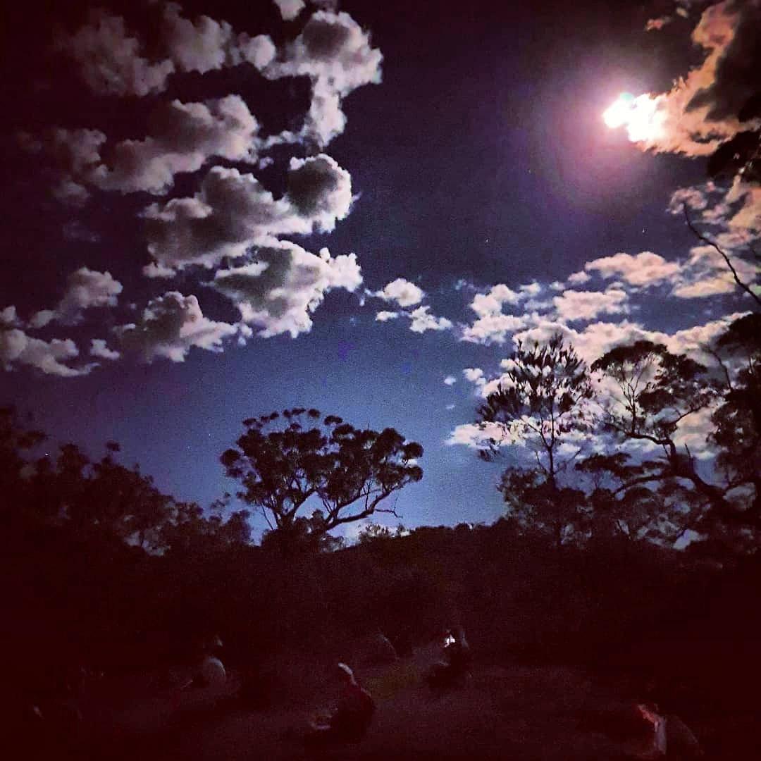 Full Moon on the Bullimah Spur Track