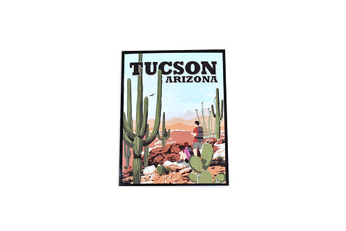 VEN | Note Card | Hiking Trails | Tucson