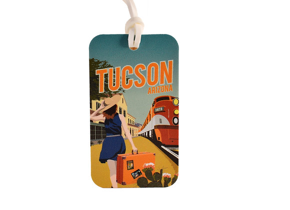 VEN | Luggage Tag -Tucson Train Station