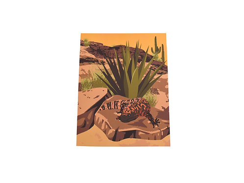 VEN   Print   Southwest Gila Monster   Tucson Option