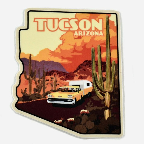 Sticker | Travel Camper | Tucson