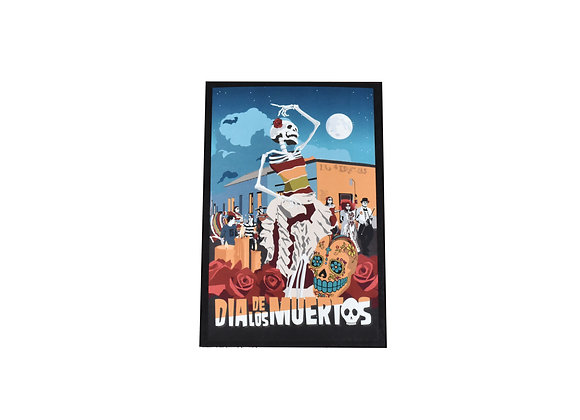 VEN | Postcard | Dia De Los Muertos | Procession | Tucson, AZ