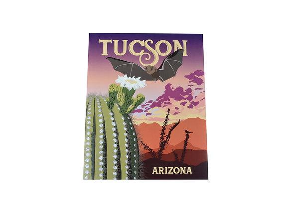 Print | Bat | Tucson or Southwest