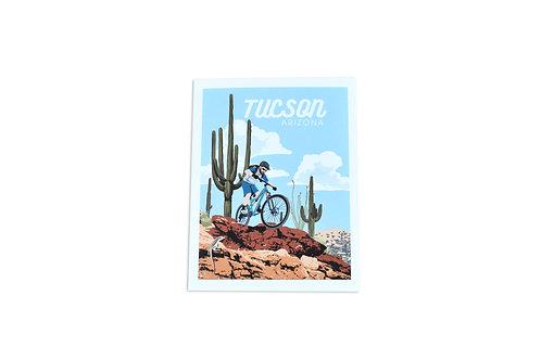 Note Card | Bike Trails | Tucson