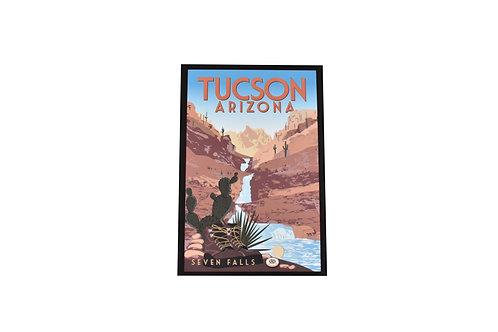 VEN | Postcard | Seven Falls | Tucson
