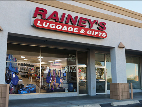 #2 Rainey's Luggage, Our First Retailer