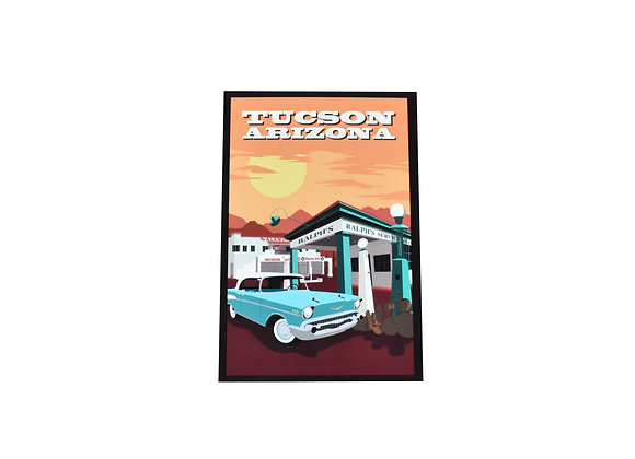 VEN |  Postcard | Ralph's Service Station