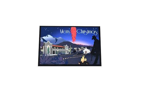 VEN   Holiday Postcard   Christmas   Cowboy   Tucson