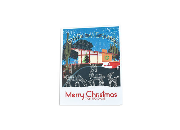 Merry Christmas | Note Card | Winterhaven | Tucson