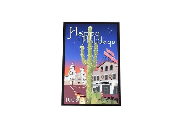 VEN - Holiday Postcard | Christmas | Saguaro | Tucson