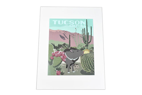 Print | Javalina | Tucson or Southwest Options
